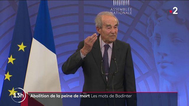 Abolition de la peine de mort : le discours historique de Robert Badinter