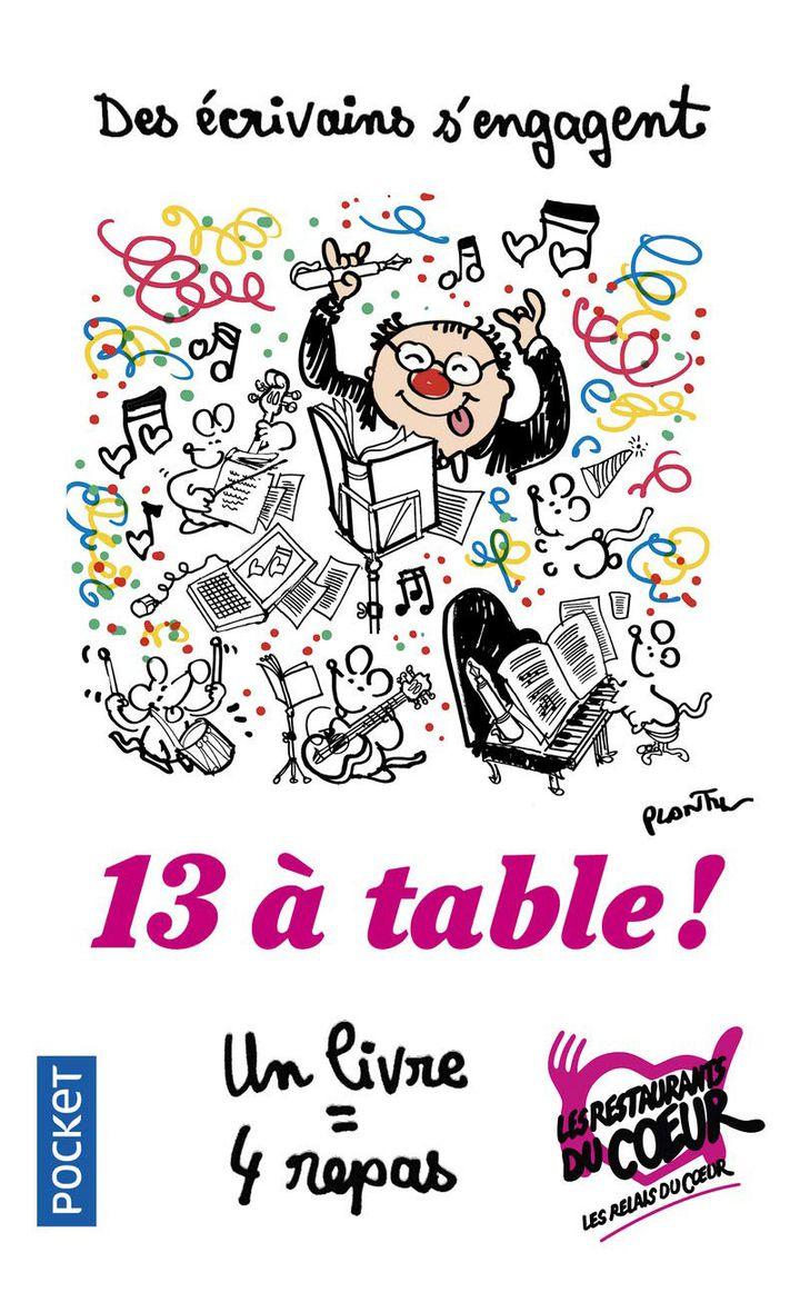 """""""13 à Table"""" : 1re de couverture  (Pocket / Cabu)"""