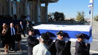 Funérailles de Shimon Peres le 30 septembre 2016 àJérusalem  (GIL COHEN-MAGEN / AFP)