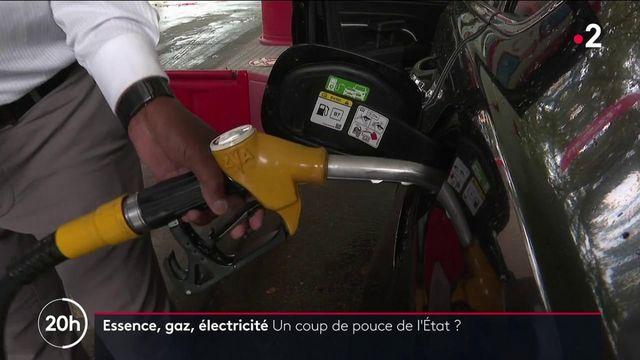 Essence, gaz, électricité : le gouvernement songe à un coup de pouce pour les ménages