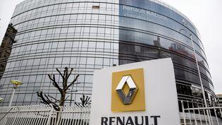 Lesiège de Renault, à Boulogne-Billancourt (Hauts-de-Seine), le 12 février 2016. (MAXPPP)