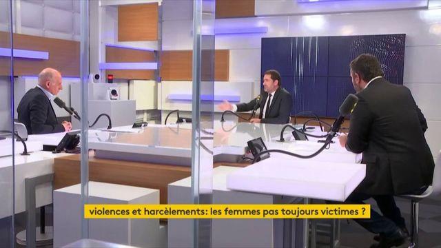 """Harcèlement sexuel : """"J'ai toujours peur de la standardisation des comportements"""" explique Christophe Castaner, """"C'est la même chose sur l'humour, est-ce que Coluche pourrait faire les émissions qu'il faisait ? La réponse est non"""""""