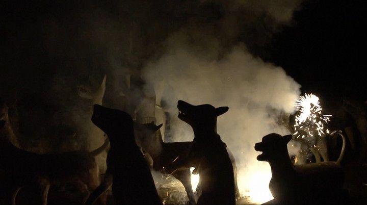 Apichatpong Weerasethakul,Fireworks (Archives), 2014 (Kick the Machine)