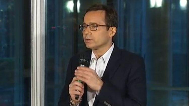 Jean-Luc Delarue en conférence de presse - Paris vendredi 2 décembre (FTVi)