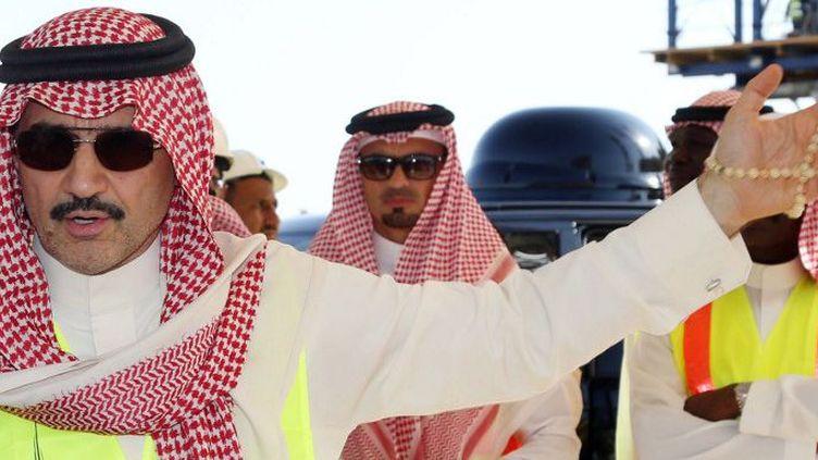 Le prince Al-Walid ben Talal au nord de Jeddah City, en novembre 2014 (AFP/STR)