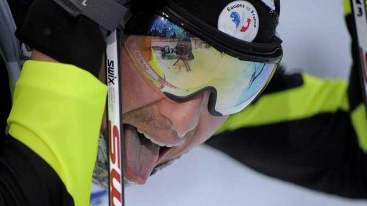 Le Français Maurice Manificat triomphe en skiathlon