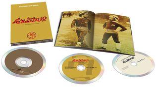 l'édition 3CD : l'album originel, la nouvelle version et 8 titres live de 1977, livret 28 pages