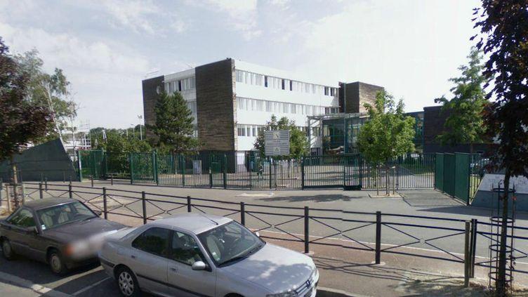Le collègeGarcia Lorca à Saint-Denis (Seine-Saint-Denis), où sont scolarisés les jeunes impliqués dans l'affaire. (GOOGLE STREET VIEW / FTVI)