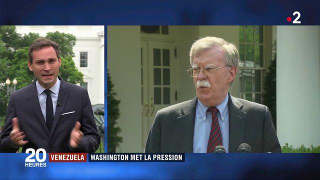 Venezuela : Washington fait pression