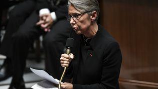 La ministre de la Transition écologique Élisabeth Borne à l'Assemblée nationale. (STEPHANE DE SAKUTIN / AFP)