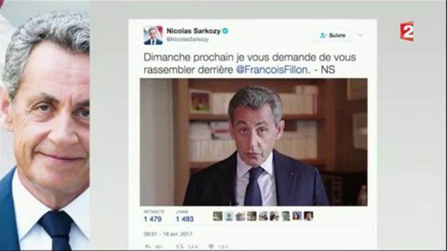 Campagne présidentielle : Sarkozy affiche son soutien à Fillon