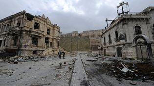 La ville d'Alep photographiée le 17 décembre 2016. (OMAR SANADIKI / REUTERS)