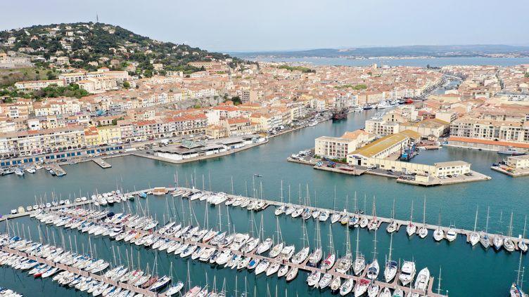 Le port de Sète (Hérault), le 19 avril 2019. (MAXPPP)
