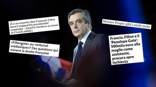 Le candidat des Républicains à l'élection présidentielle, François Fillon, lors d'un meeting à Paris, le 29 janvier 2017. (ANTHONY MICALLEF / HAYTHAM-REA)