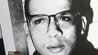 """Photo d'Abdelhakim Dekhar prise en 1994 et diffusée dansl'émission """"Faites entrer l'accusé"""" sur France 2. (17 JUIN MEDIA /  AFP )"""