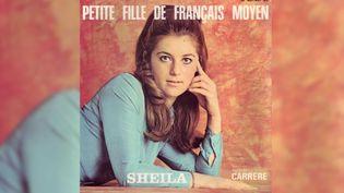"""Le 45 tours de """"Petite Fille de Français moyen"""" de Sheila. (DR)"""