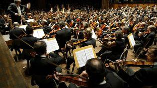 La mairie de Courtrai (Belgique) espère que la musique classique attirera d'autres personnes dans les parcs que les bandes de jeunes. (GEORGES GOBET / AFP)