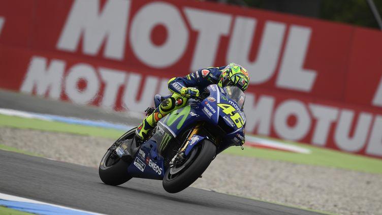 L'Italien Valentino Rossi (Yamaha) (GIGI SOLDANO / DPPI MEDIA)