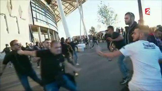 Lyon : polémique après les incidents qui ont émaillé le match OL-Besiktas