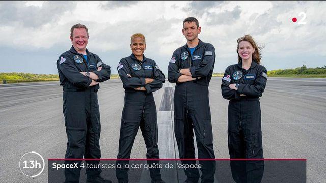 Space X : le premier vol touristique vers l'espace s'apprête à décoller