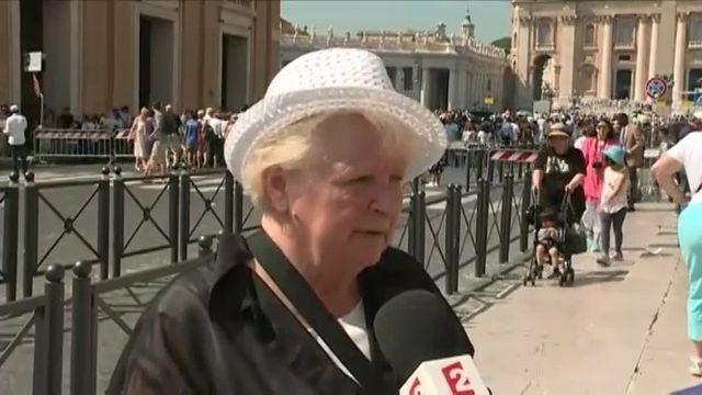 Roselyne Hamel, la sœur du père assassiné, a rencontré le pape François
