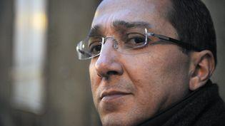 Faouzi Lamdaoui, conseiller de François Hollande, le 23 février 2012 au Mans (Sarthe). (JEAN-FRANCOIS MONIER / AFP)