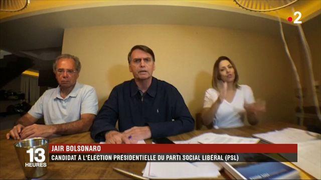 Brésil : l'extrême droite en tête du premier tour de l'élection présidentielle