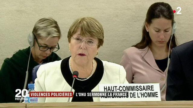 Violences policières : l'ONU sermonne la France