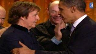 Paul McCartney honoré à la Maison-Blanche  (Culturebox)