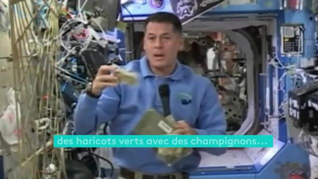 Thanksgiving dans la Station spatiale internationale