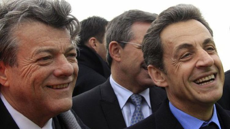Borloo et Sarkozy en avril 2011 (Pascal Rossignol (AFP))