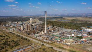 Mine de platine à Marikana en Afrique du Sud (photo d'illustration). (MICHELE SPATARI / AFP)