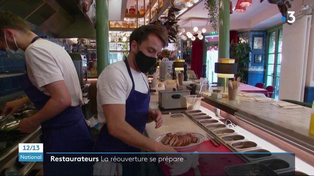 Déconfinement : les restaurants préparent la réouverture des terrasses