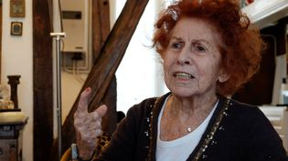 MarcelineLoridan-Ivensest décédée à Paris mardi 18 septembre à 90 ans (DANIEL FOURAY / MAXPPP)