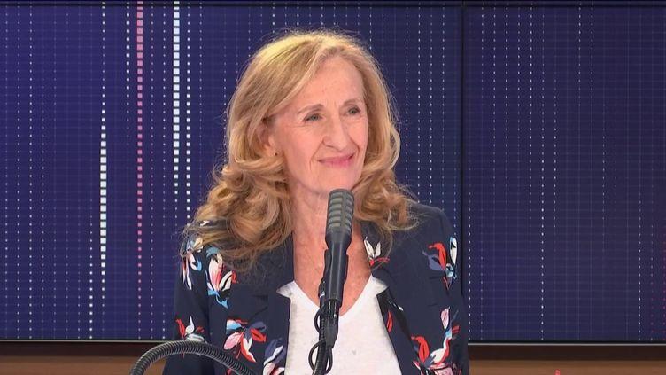 """Nicole Belloubet,Garde des Sceaux et ministre de la Justice, était l'invitée du """"8h30franceinfo"""", vendredi 12 juin 2020. (FRANCEINFO / RADIOFRANCE)"""