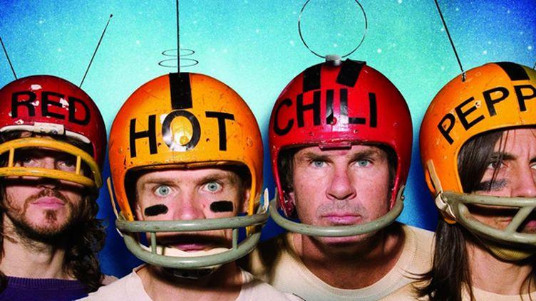 Les Red Hot Chili Peppers toujours prêts à l'auto-dérision.  (DR)