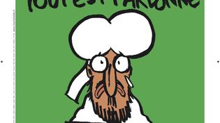 La une du Charlie Hebdo à paraître le 14 janvier 2015. (CHARLIE HEBDO / LIBERATION)