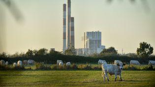 La centrale à charbon de Cordemais, en Loire-Atlantique, le 28 septembre 2018. (LOIC VENANCE / AFP)