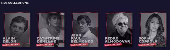 Les internautes pourront (re)découvrir le meilleur d'Almodovar, d'Alain Delon ou encore de Jean-Paul Belmondo. (SALTO)