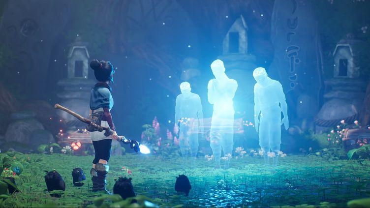 Kena : Brigde of Spirits, disponible sur console et PC dont la bande-annonce officielle a été publiée sur YouTube le 11 juin 2020 par PlayStation. (FRANCEINFO)
