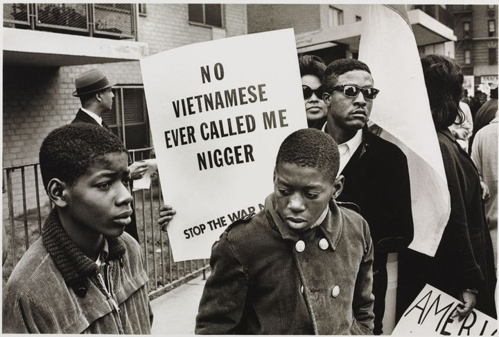 """Builder Levy, """"Harlem Peace March"""", 1967. Londres, Victoria and Albert Museum (© Builder Levy)"""