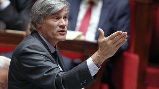 Le ministre de l'Agriculture et porte-parole du gouvernement, Stéphane Le Foll, à l'Assemblée nationale, le 18 mars 2015. (FRANCOIS GUILLOT / AFP)