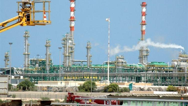 Les installations gazières et pétrolières à Tripoli. (AFP PHOTO/MAHMUD TURKIA)