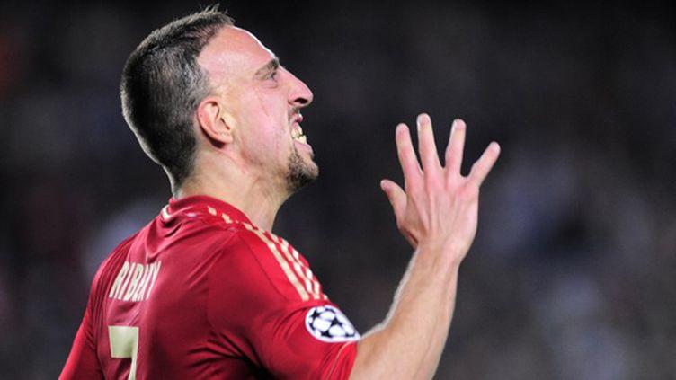 Franck Ribéry (JOSEP LAGO / AFP)