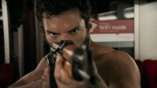 """Capture d'écran du film """"Le 15h17 pour Paris"""", réalisé par Clint Eastwood. (FRANCE 3)"""
