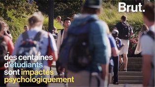 VIDEO. Quel impact a la crise sanitaire sur la santé mentale des étudiants ? (BRUT)