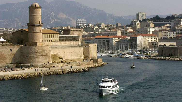 LeVieux-Port de Marseille (Bouches-du-Rhône), le 5 mai 2019. (PHILIPPE ROY / AFP)