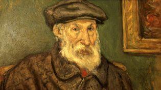 Autoportrait de Pierre-Auguste Renoir exposé au musée Renoir, Domaine des Colettes, à Cagnes-sur-mer (Alpes-Côte-d'Azur), dernière vrésidence du peintre.  (Nicolas Thibaut / Photononstop)