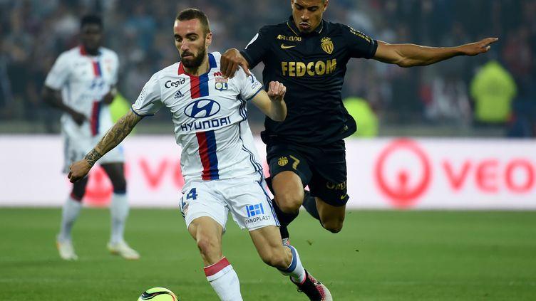 Le Lyon de Sergi Darder avait explosé Monaco 6-1 lors de la dernière confrontation entre les deux équipes (PHILIPPE DESMAZES / AFP)