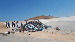 Le site de Foukhari, au sud de la bande de Gaza (ETIENNE MONIN / RADIO FRANCE)